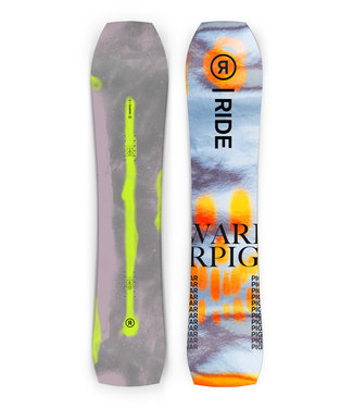 RIDE RIDE MEN'S WARPIG SNOWBOARD 2022