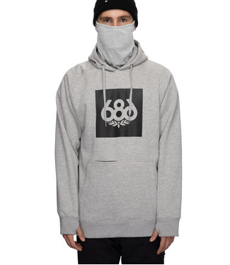 686 686 MEN'S KNOCKOUT PULLOVER HOODY ATHLETIC HEATHER 2022