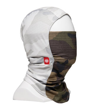 686 686 DELUXE HINGED BALACLAVA WHITE CAMO CLRBLK 2022