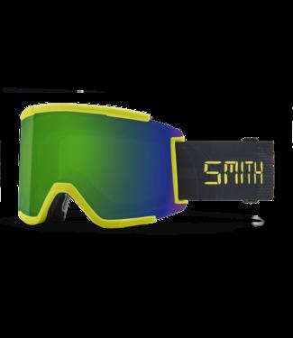 SMITH SMITH SQUAD XL GOGGLE NEON YELLOW DIGITAL W/ CHROMAPOP SUN GREEN MIRROR + CHROMAPOP STORM YELLOW FLASH 2022