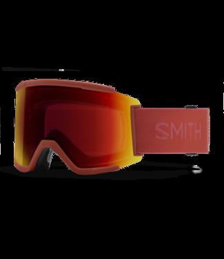 SMITH SMITH SQUAD XL GOGGLE CLAY RED W/ CHROMAPOP SUN RED MIRROR + CHROMAPOP STORM YELLOW FLASH 2022