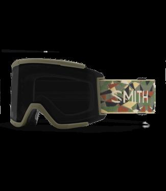 SMITH SMITH SQUAD XL GOGGLE ALDER GEO CAMO W/ CHROMAPOP SUN BLACK + CHROMAPOP STORM ROSE FLASH 2022