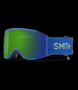 SMITH SMITH SQUAD MAG GOGGLE ELECTRIC BLUE W/ CHROMAPOP SUN GREEN MIRROR + CHROMAPOP STORM ROSE FLASH 2022