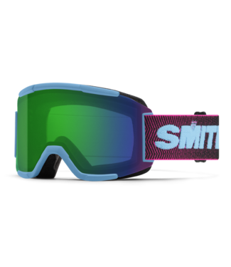 SMITH SMITH SQUAD GOGGLE SNORKEL ARCHIVE W/ CHROMAPOP EVERYDAY GREEN MIRROR + YELLOW 2022