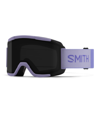 SMITH SMITH SQUAD GOGGLE LILAC W/ CHROMAPOP SUN BLACK + YELLOW 2022