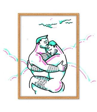 MIVOart Hug print - MIVOart
