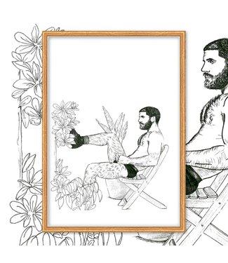 MIVOart Plant Guy print - MIVOart