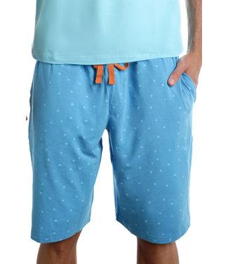 Wood Underwear Lounge Shorts - B-Squared Blue