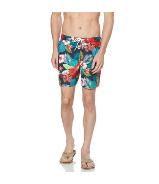 Original Penguin Floral Volley Fit Swim Shorts