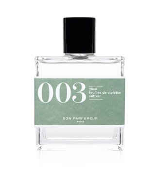 Bon Parfumeur 003 : yuzu / violet leaves / vetiver