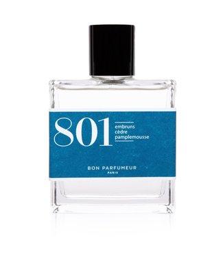 Bon Parfumeur 801 : sea spray / cedar / grapefruit