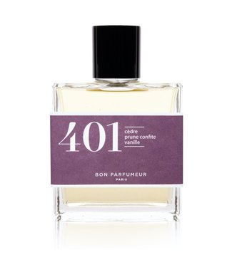 Bon Parfumeur 401 : cedar / candied plum / vanilla