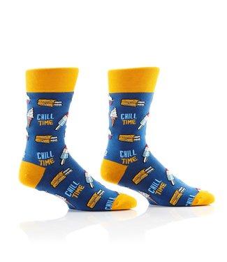 Yo Sox Chill Time, crew socks