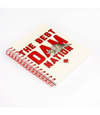 Main and Local Best Dam Nation Notebook
