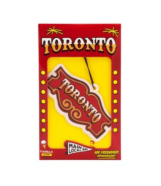 Main and Local Honest Toronto Air Freshener