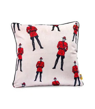 Main and Local Mountie Pillow