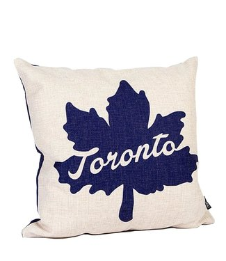 Main and Local Toronto Maple Leaf Pillow