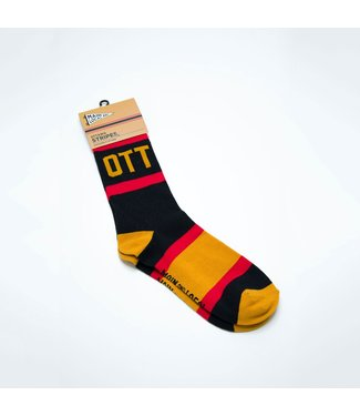 Main and Local Ottawa City Stripes Socks