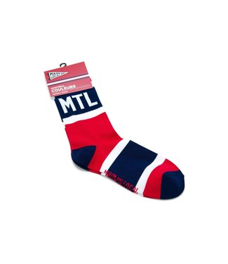 Main and Local Montreal City Stripes Socks