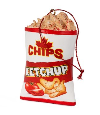 Main and Local Ketchup Chips Ornament