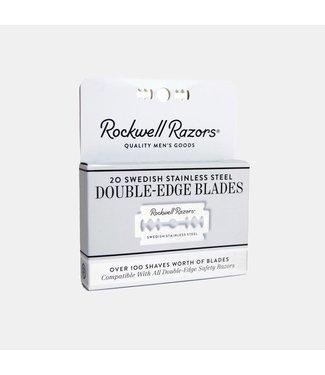 Rockwell Razors 20 Double Edge Razor Blades - Rockwell Razors