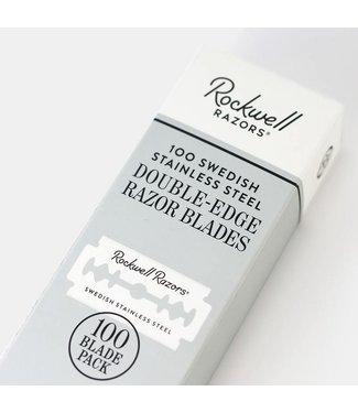 Rockwell Razors 100 Double Edge Razor Blades - Rockwell Razors