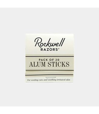 Rockwell Razors Pack of 20 Alum Sticks - Rockwell Razors