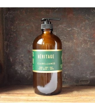 Clark & James Heritage liquid soap - Clark & James