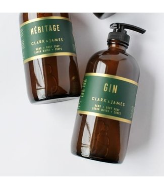 Clark & James Gin liquid soap - Clark & James
