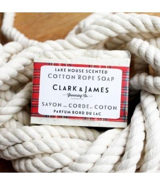 Clark & James Lake house rope soap - Clark & James