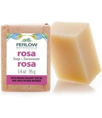 Ferlow Botanicals Rosa Soap Bar - Ferlow Boranicals