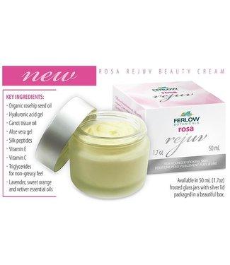 Ferlow Botanicals Rosa Rejuv Beauty Cream - Ferlow Botanicals