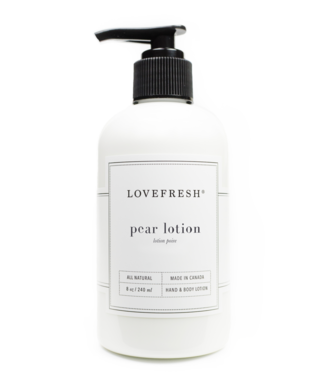 Lovefresh Pear Lotion - Lovefresh