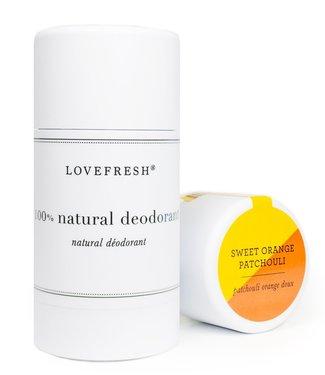 Lovefresh Sweet Orange Patchouli Deodorant - Lovefresh
