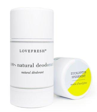 Lovefresh Eucalyptus/Spearmint Deodorant -Lovefresh