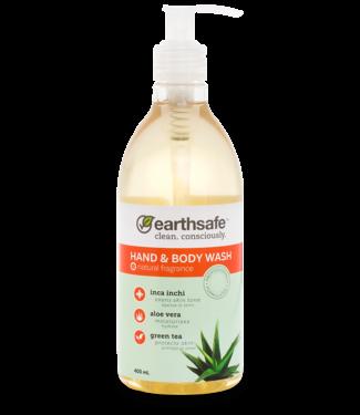 earthsafe Natural Fragrance Hand & Body wash - earthsafe