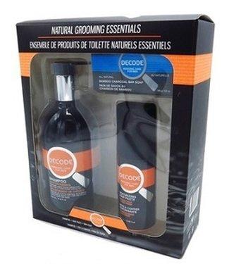 DECODE Natural Grooming Essentials gift set - Decode