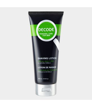 DECODE All Natural Shaving lotion - Decode