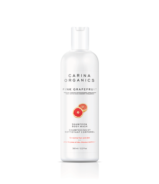 Carina Organics Pink Grapefruit Shampoo And Body Wash - Carina Organics