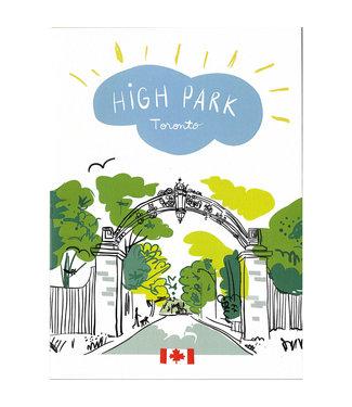 Wendy Tancock High Park Gate Card - Wendy Tancock