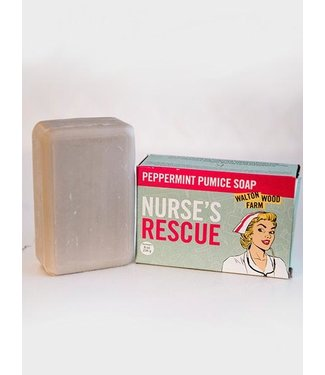 Walton Wood Farm Nurse's Rescue - peppermint pumice soap