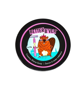 Walton Wood Farm Better B'ver - creamy shave soap