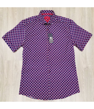 Hörst Short Sleeve Sport Shirt with Tucans in love