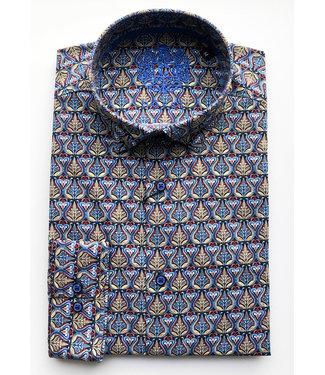 Hörst Long Sleeve Sport Shirt with art nouveau design