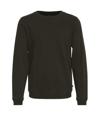 Casual Friday Crew neck Sweatshirt Moss Green