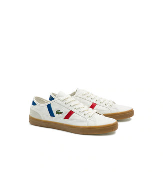 Lacoste Sideline TriColoure Canvas Sneakers
