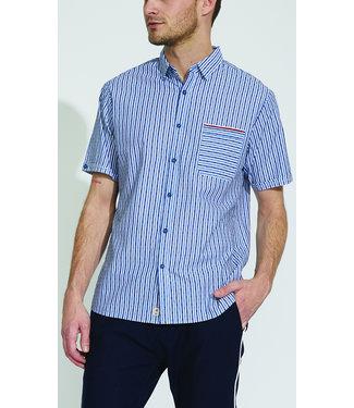 Micros Garage Woven S/S Shirt