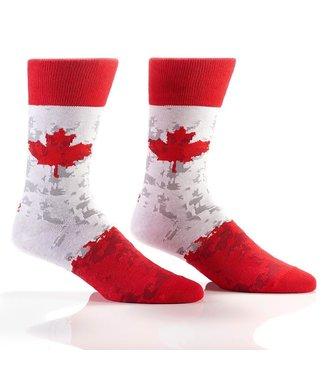 Yo Sox Canadian Pride, crew socks