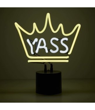 Amped&Co Yass Queen Neon Desk Light