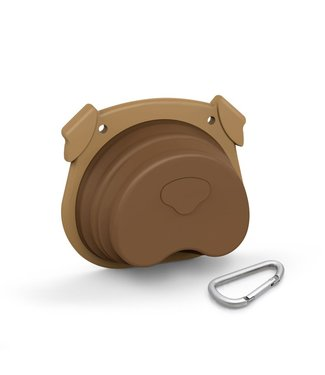 Fred & Friends Howligans - Collapsible Dog Bowl
